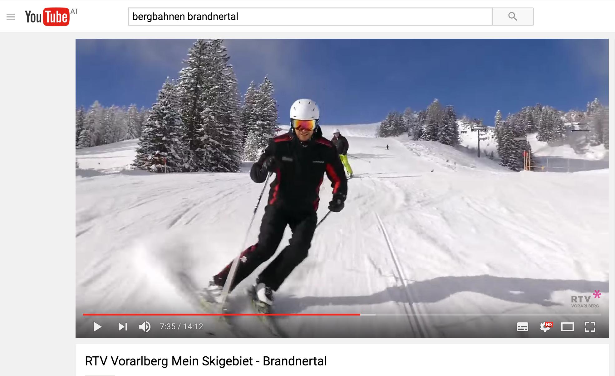 Ein Skitag mit Markus Comploj