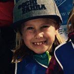 Strahlende Gesichter bei den jungen Skifahrern