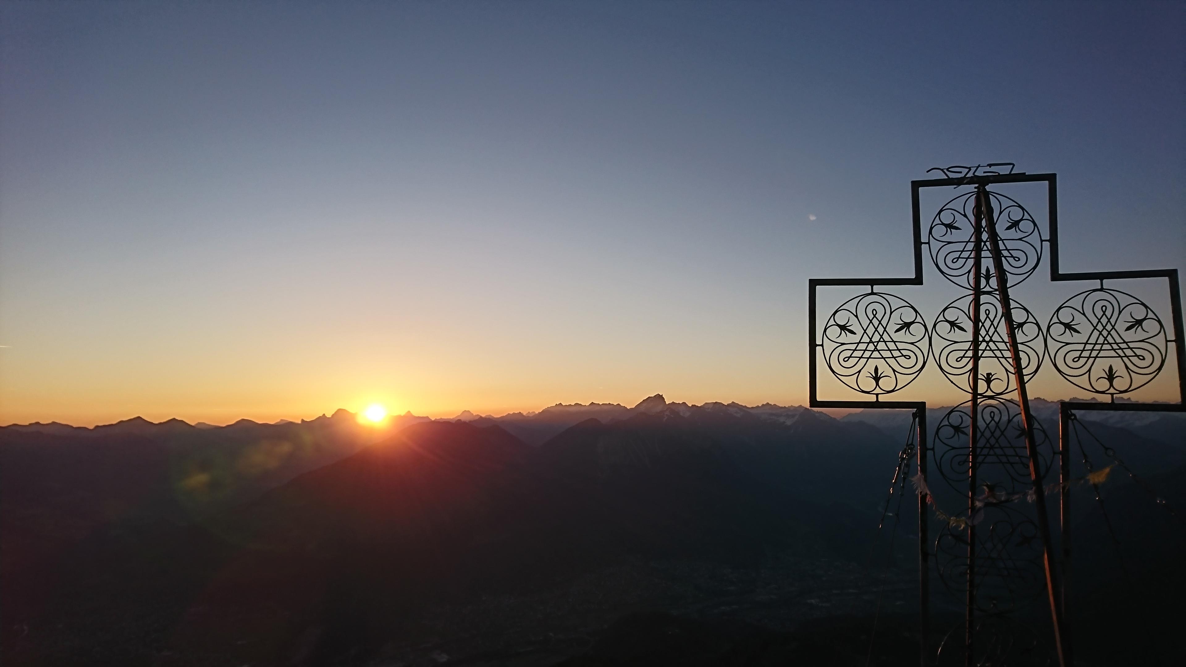 Erlebnisbericht Mondspitze – Sonnenaufgangswanderung
