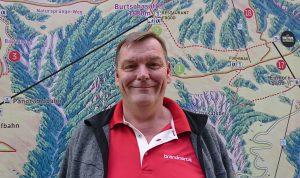 Erster Mitarbeiter am Berg Wolfgang Burtscher