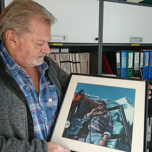 Helmut Schedler arbeitet seit 40 Jahren bei den Bergbahnen Brandnertal.