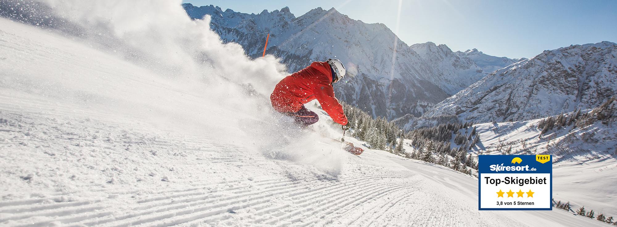 Erlebnis: Skigebiet Brandnertal