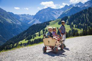 Sommer, Brandnertal, Wandern, Wanderweg, Kinder
