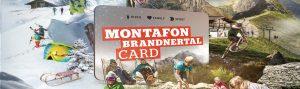 Hol dir jetzt deine Montafon Brandnertal Card zum Vorverkaufspreis!