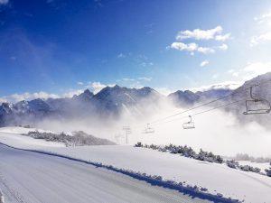 Verschneite Landschaften und super Pisten