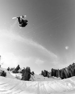 Airtime im Backyards Snowpark